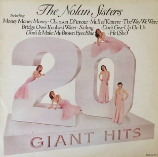 Nolan Sisters (‎The) - 20 Giant Hits (LP) (EX/VG)